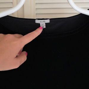 Ecote Dresses - Black Velvet Ecote Tunic / Mini Dress M